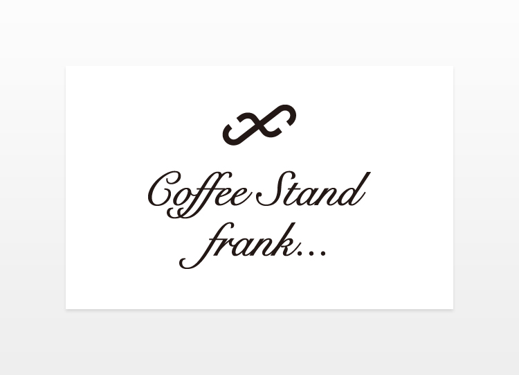 Coffee stand frank... ロゴ